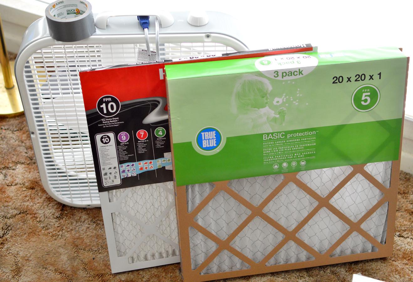 Cheap Air Filters >> Clean Air Bitch Diy Fan Air Filter On The Cheap
